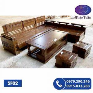 sofa gỗ sf02