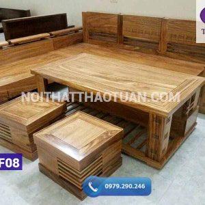 Sofa góc trứng gỗ hương xám1-org