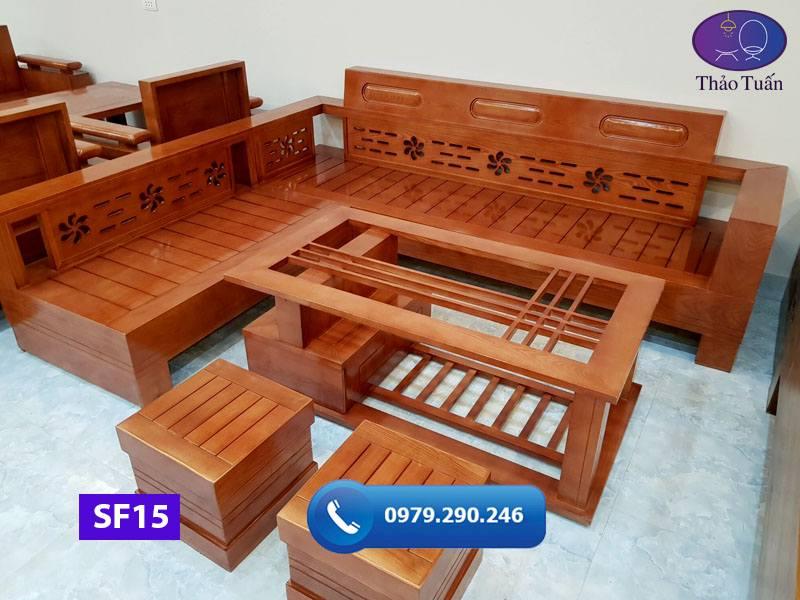 sofa góc hoa mặt nan gỗ sồi SF15 230x200cm1-org