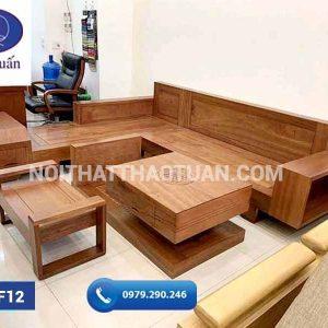 sofa ngăn kéo vát gỗ xoan đào-org