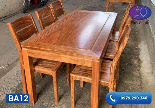 ban ghế gỗ hương xám b12-org-1