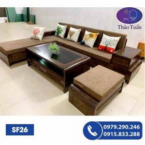 sofa gỗ sf26