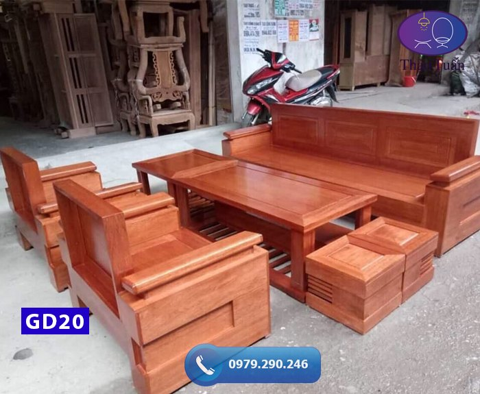 Ghế đối tay trứng gỗ cong GD 20-org