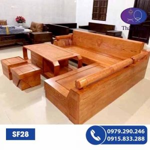 sofa gỗ sf28