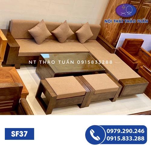 Bộ ghế sofa góc chữ L SF37